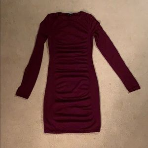 NWOT Express bodycon sweater dress, XS